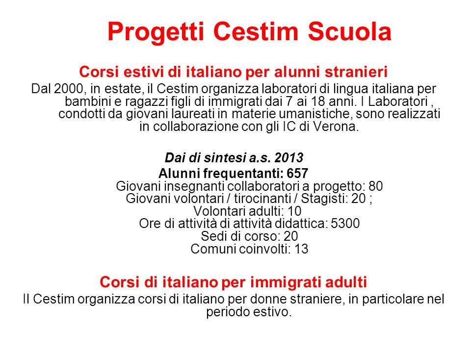 Corsi estivi di italiano per alunni stranieri