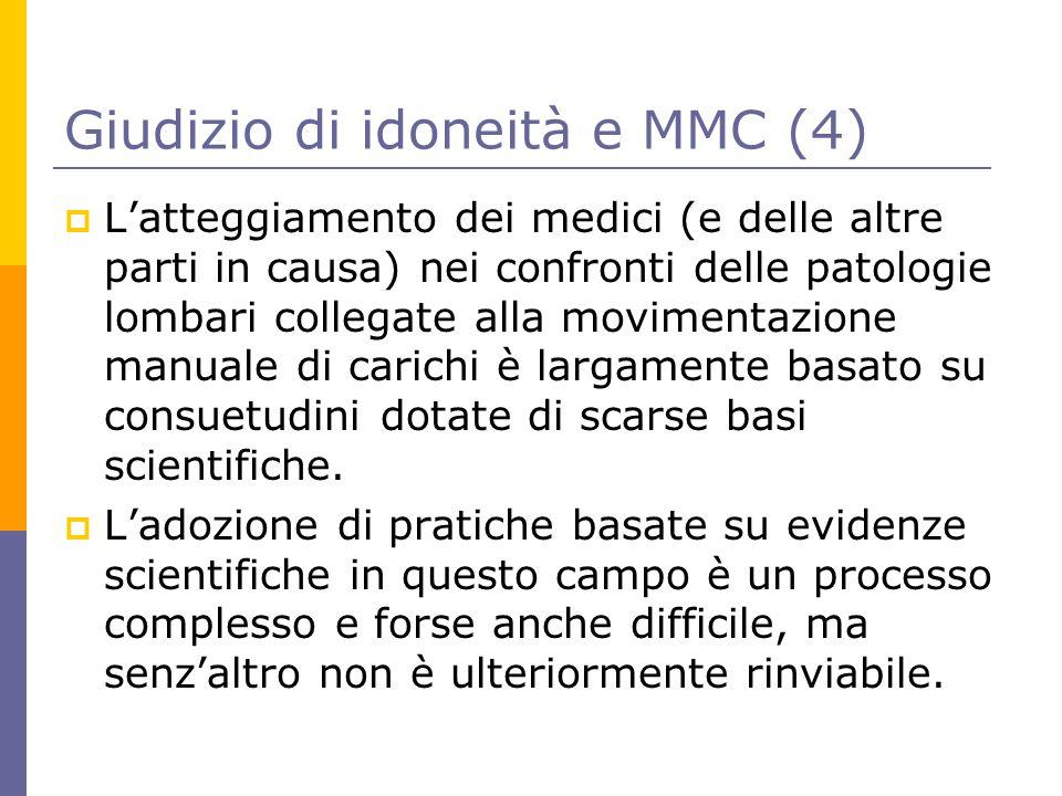 Giudizio di idoneità e MMC (4)