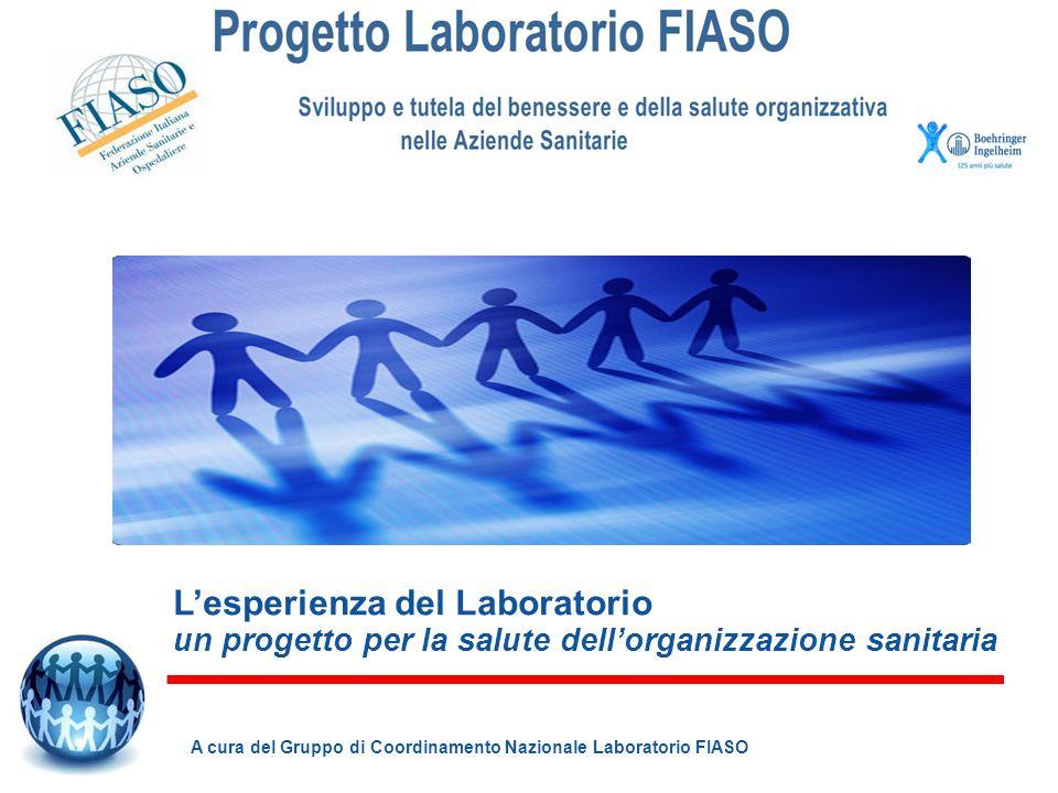 L'esperienza del Laboratorio un progetto per la salute dell'organizzazione sanitaria
