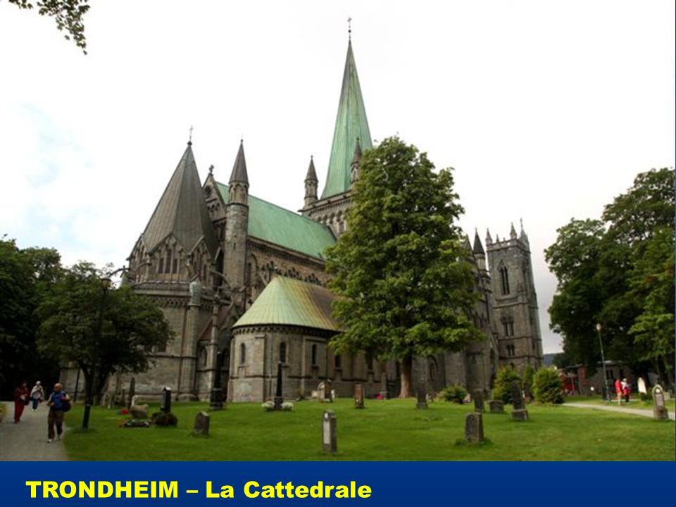 TRONDHEIM – La Cattedrale