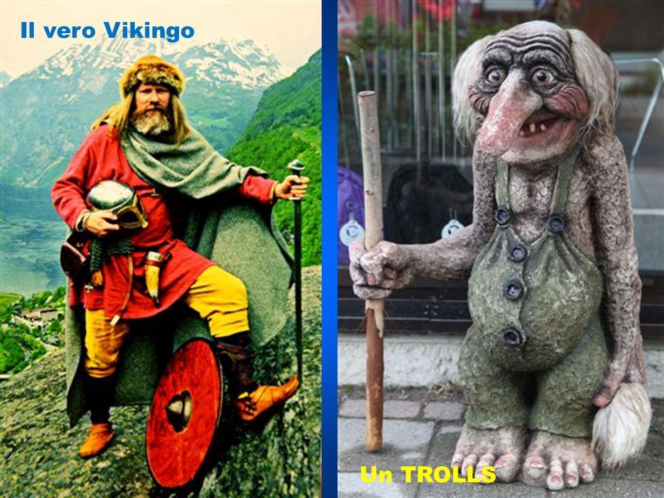 Il vero Vikingo Un TROLLS