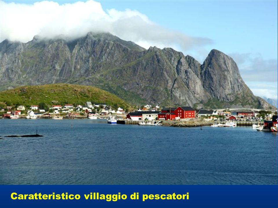 Caratteristico villaggio di pescatori