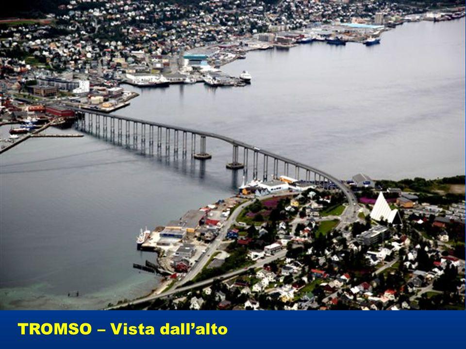 TROMSO – Vista dall'alto