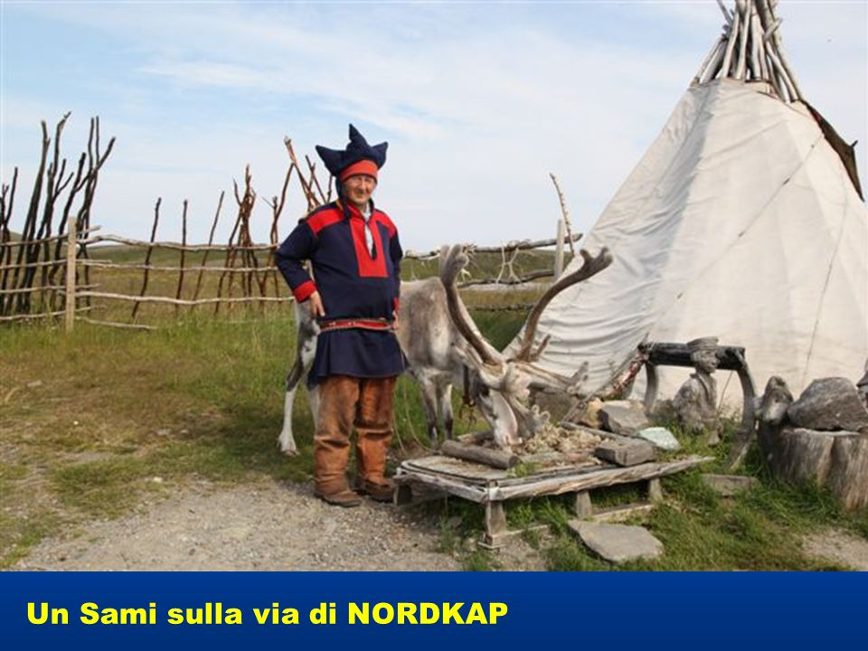Un Sami sulla via di NORDKAP