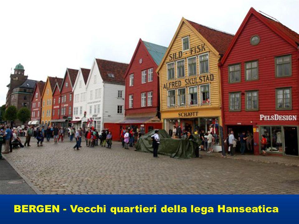 BERGEN - Vecchi quartieri della lega Hanseatica