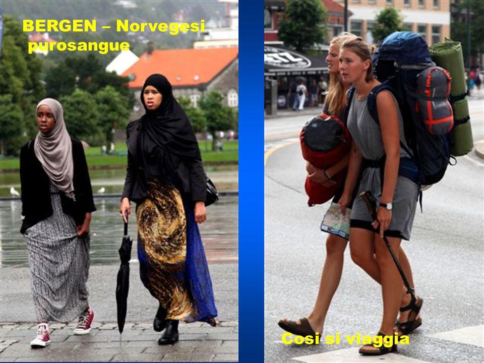 BERGEN – Norvegesi purosangue Cosi si viaggia