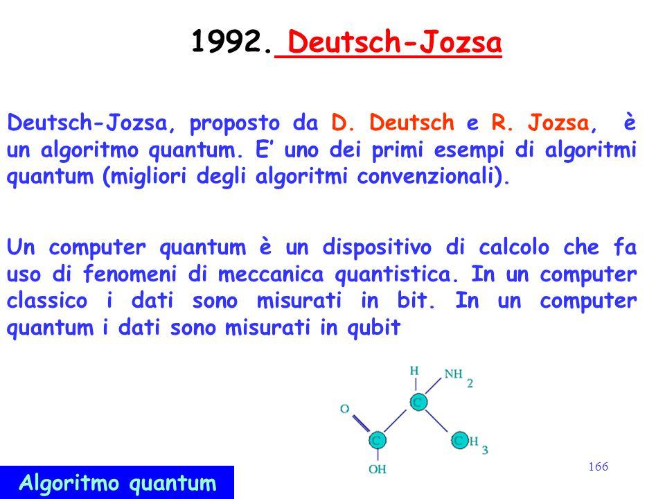 1992. Deutsch-Jozsa