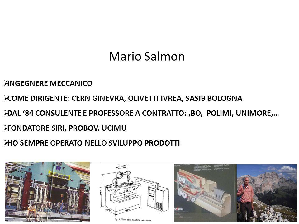 Mario Salmon INGEGNERE MECCANICO