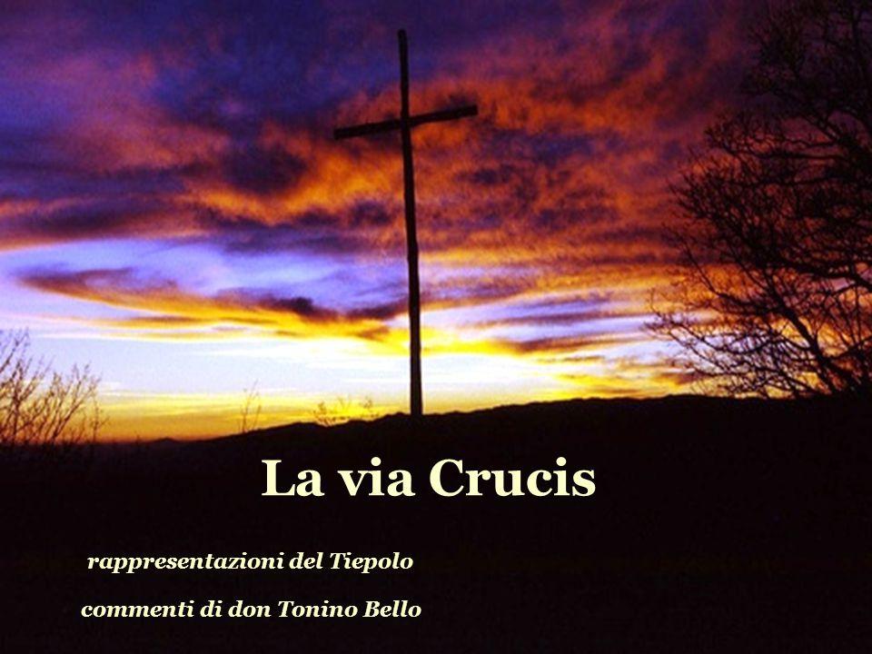 La via Crucis rappresentazioni del Tiepolo