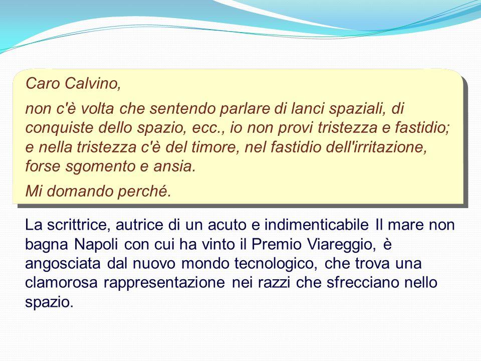Caro Calvino,