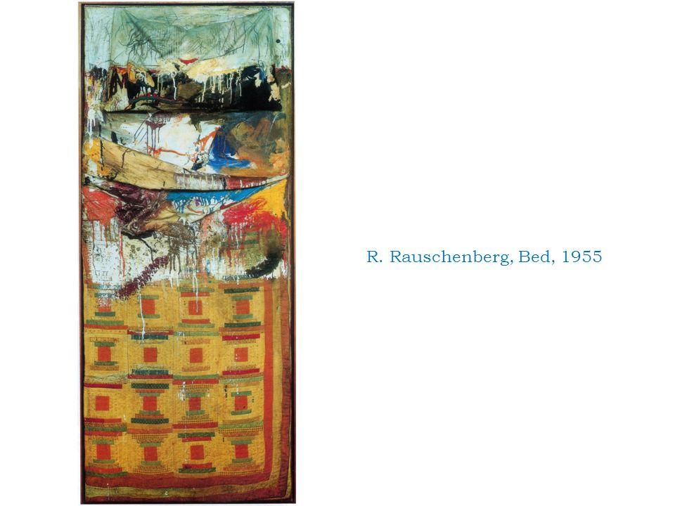 R. Rauschenberg, Bed, 1955