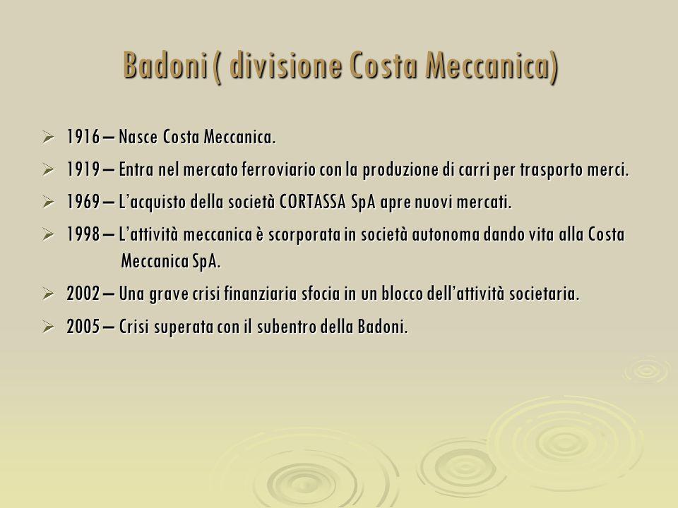 Badoni ( divisione Costa Meccanica)