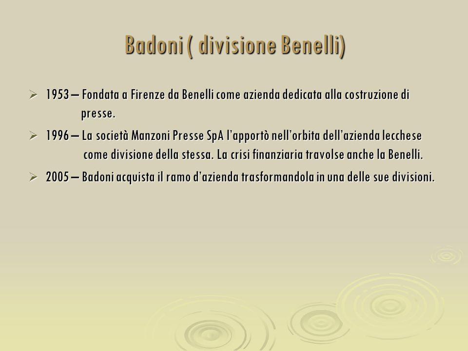 Badoni ( divisione Benelli)