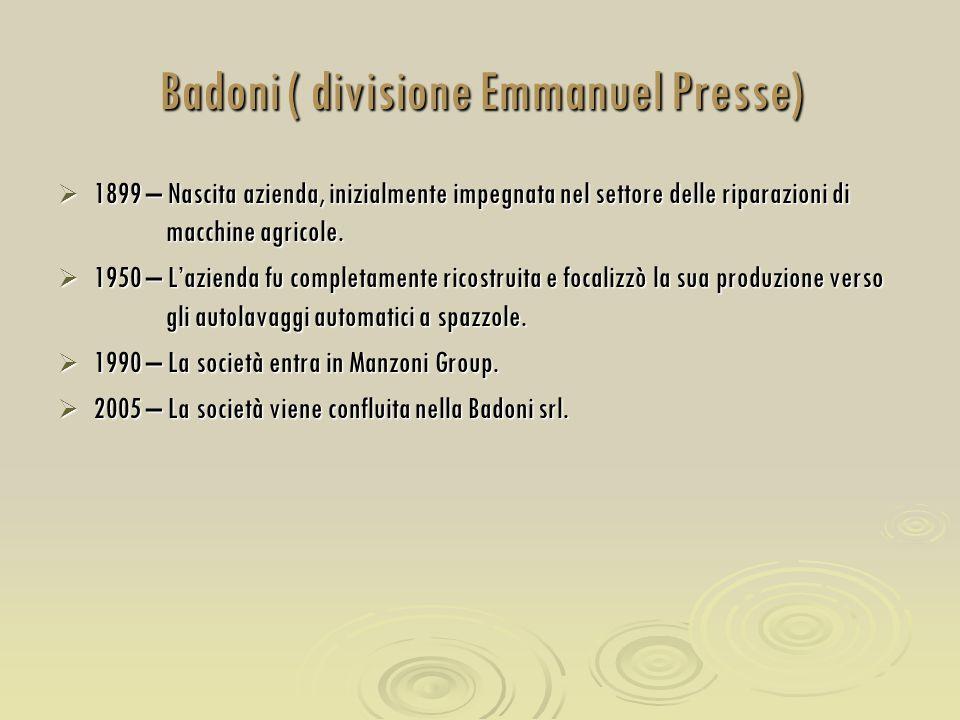 Badoni ( divisione Emmanuel Presse)