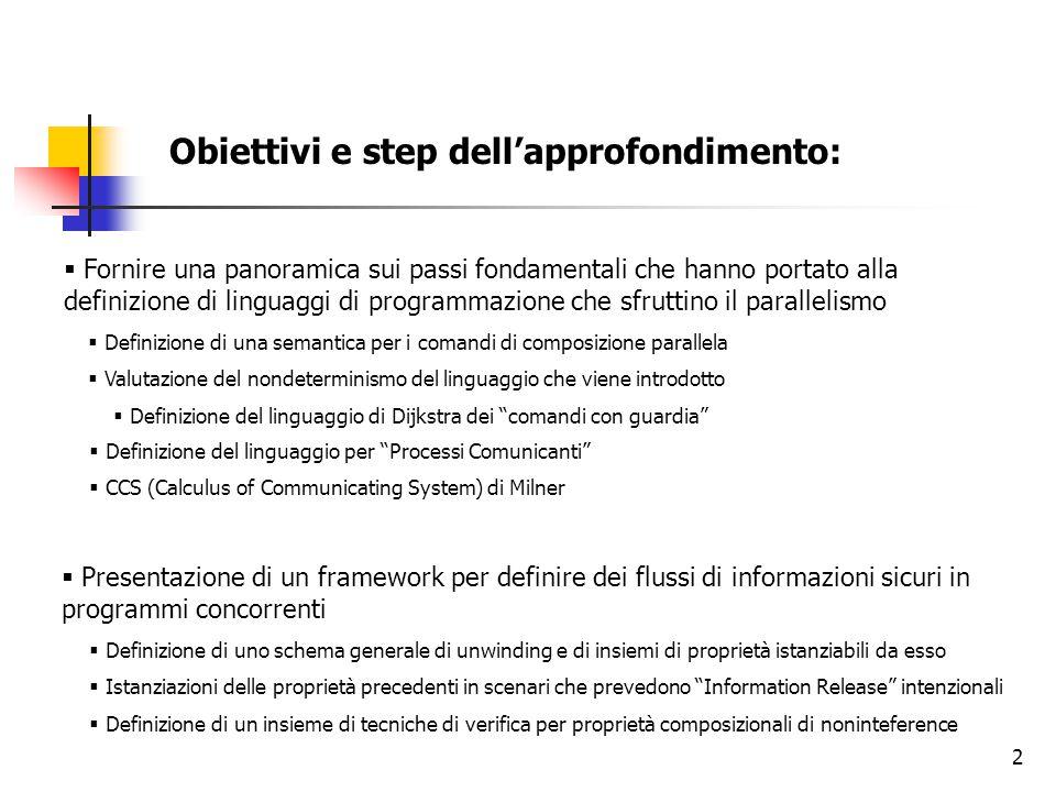 Obiettivi e step dell'approfondimento: