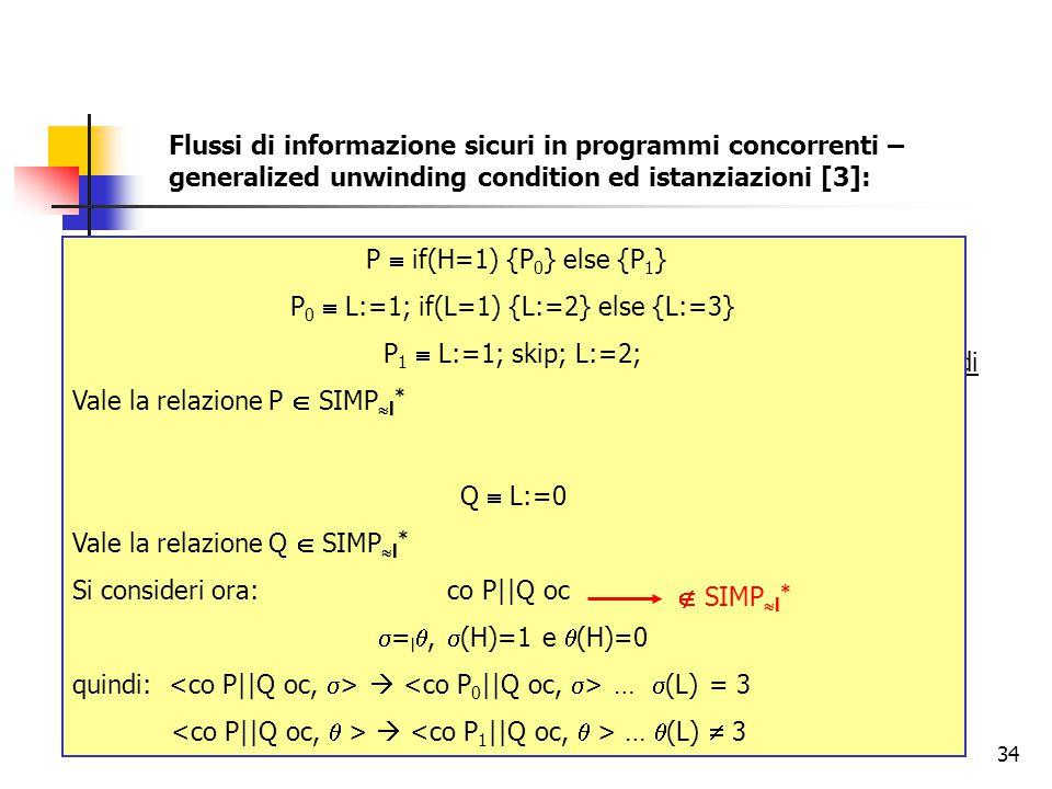 P0  L:=1; if(L=1) {L:=2} else {L:=3}