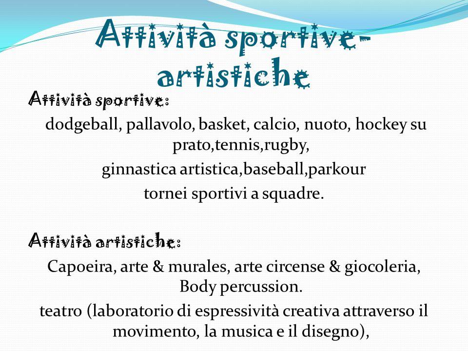 Attività sportive-artistiche