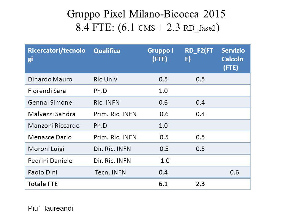 Gruppo Pixel Milano-Bicocca 2015