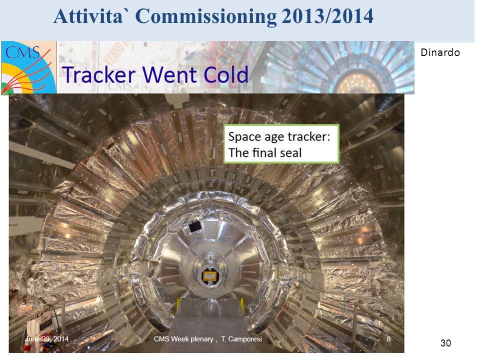 Attivita` Commissioning 2013/2014