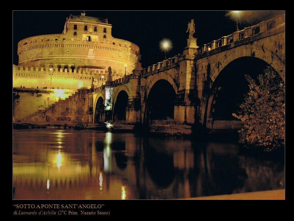 SOTTO A PONTE SANT'ANGELO