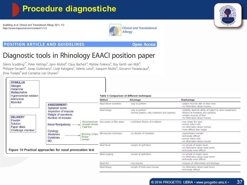 Procedure diagnostiche
