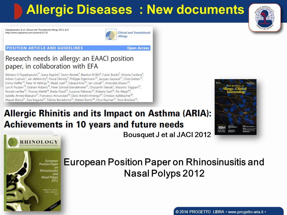 European Position Paper on Rhinosinusitis and Nasal Polyps 2012