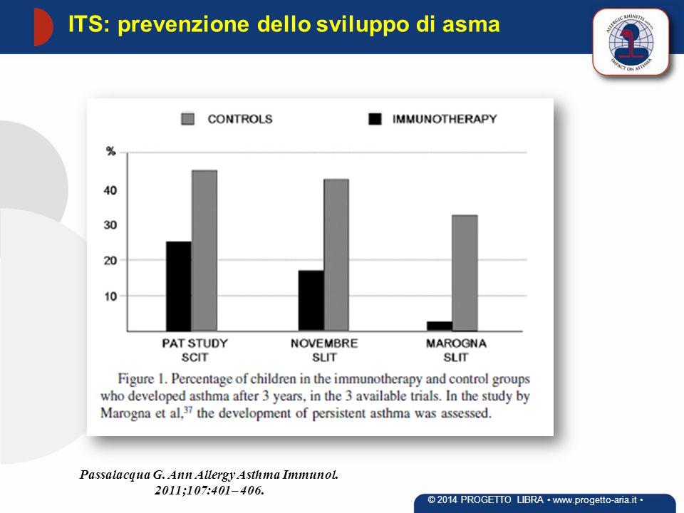 ITS: prevenzione dello sviluppo di asma