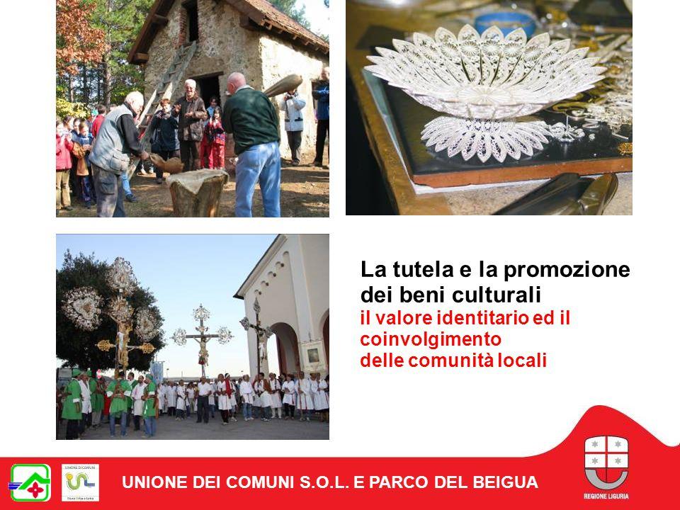 La tutela e la promozione dei beni culturali il valore identitario ed il coinvolgimento delle comunità locali