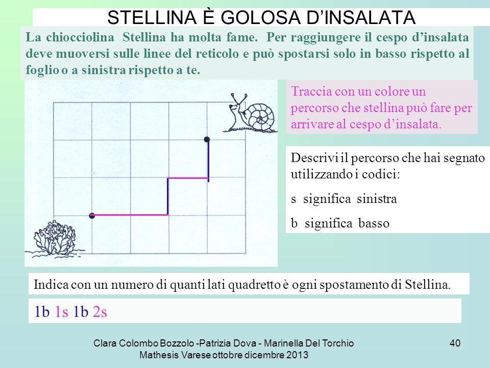 STELLINA È GOLOSA D'INSALATA
