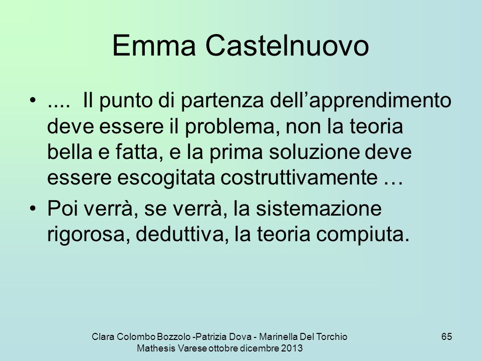 Emma Castelnuovo