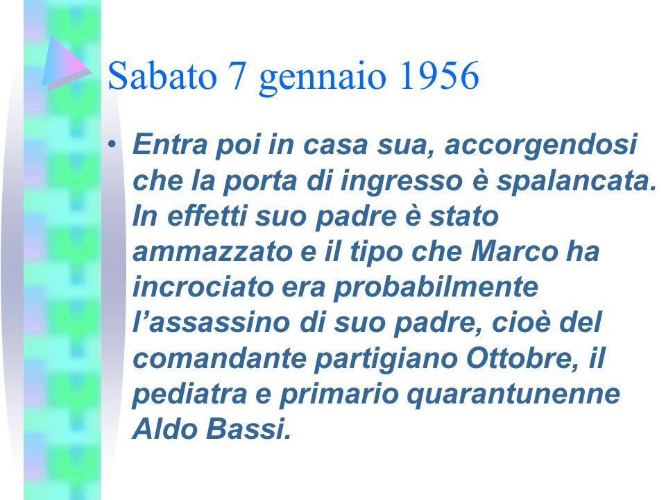 Sabato 7 gennaio 1956