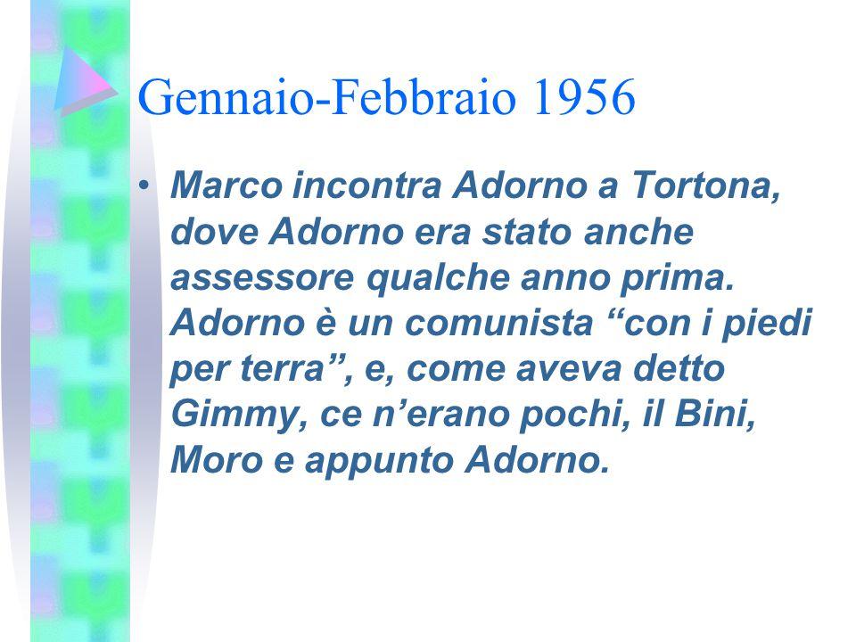 Gennaio-Febbraio 1956