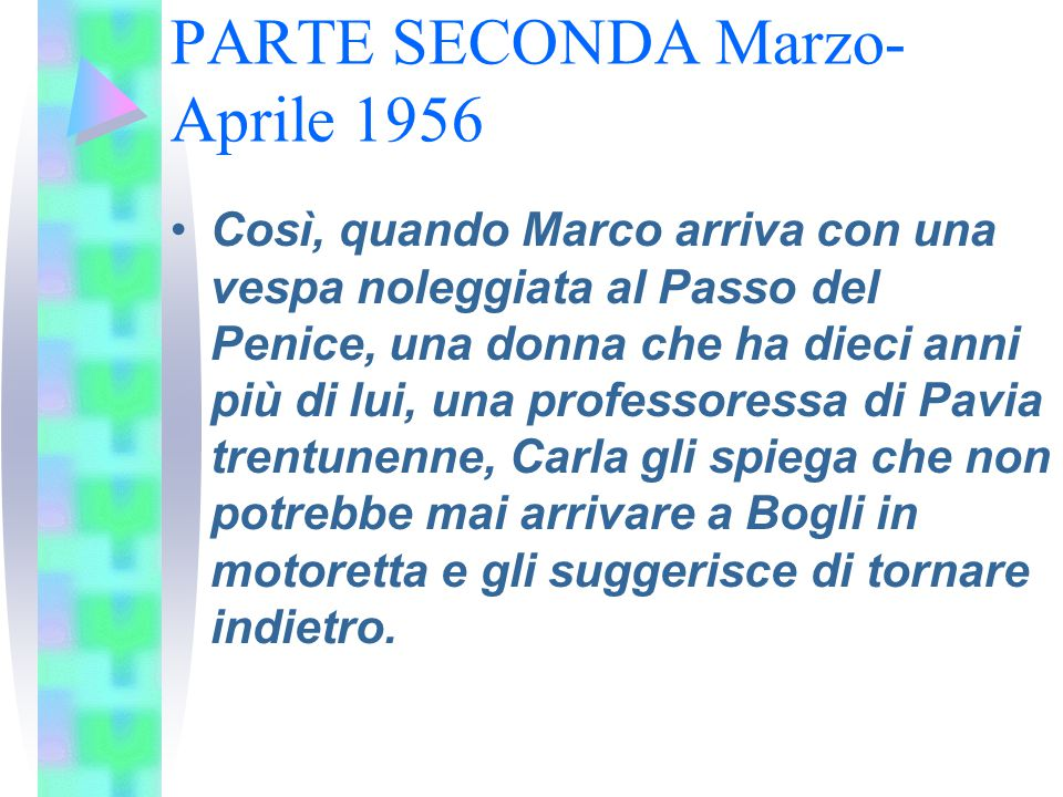 PARTE SECONDA Marzo-Aprile 1956