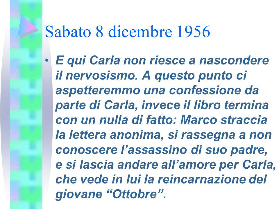 Sabato 8 dicembre 1956