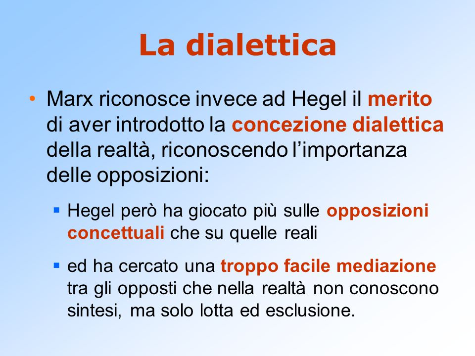 La dialettica