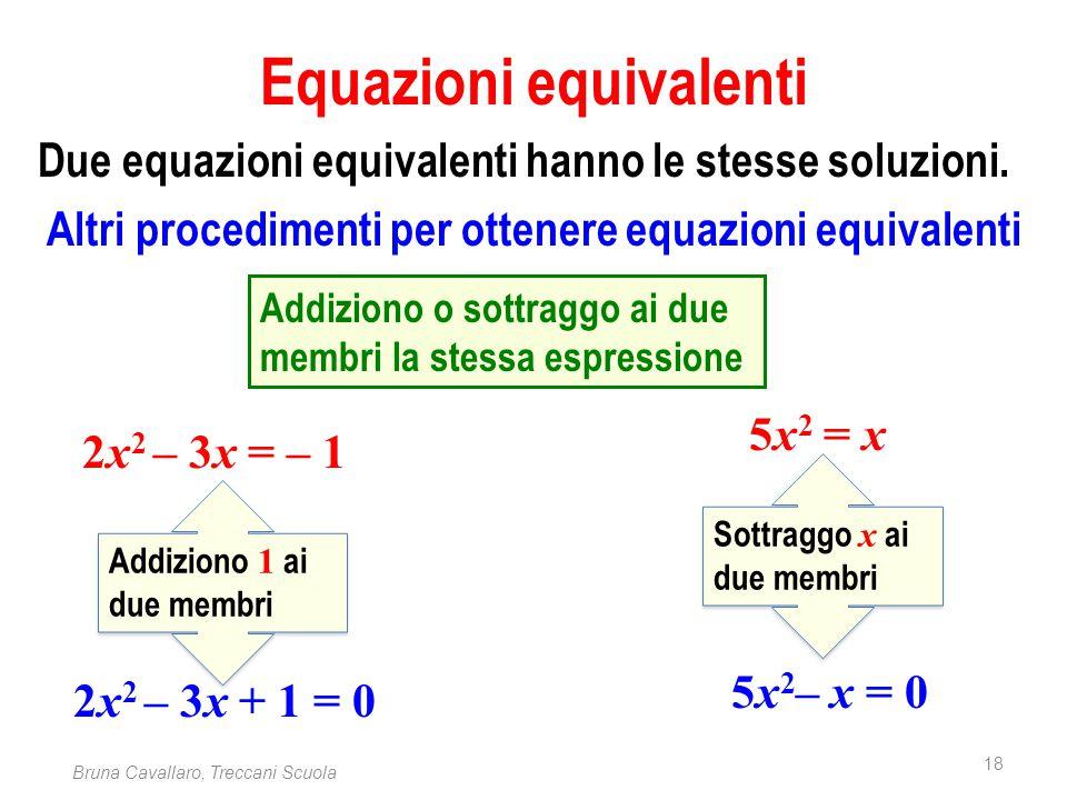 Equazioni equivalenti