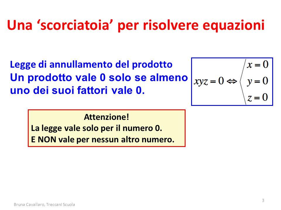 Una 'scorciatoia' per risolvere equazioni