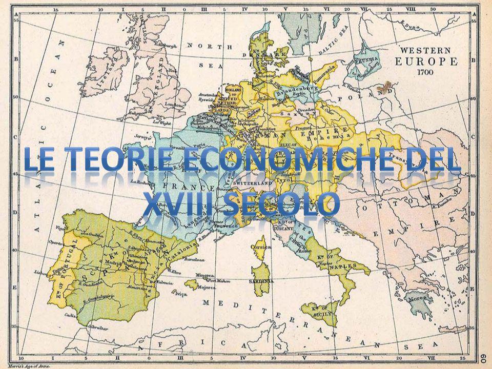 Le teorie economiche del xviii secolo