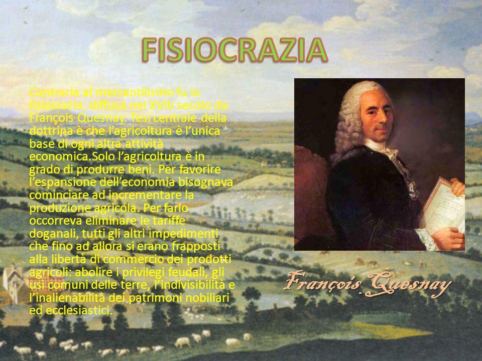 FISIOCRAZIA François Quesnay