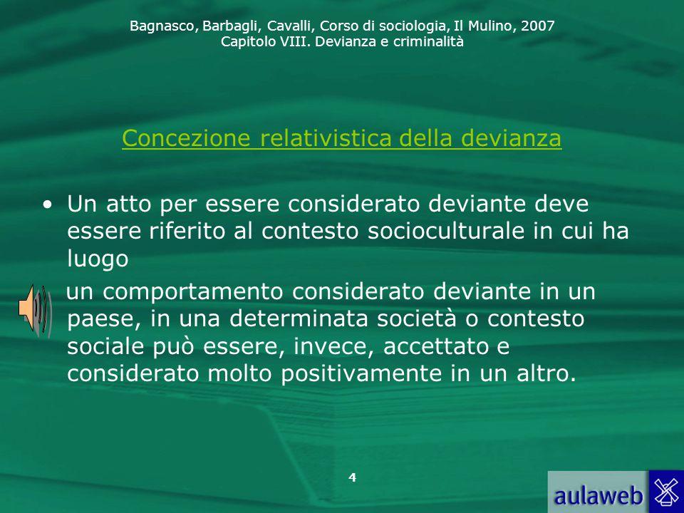 Concezione relativistica della devianza