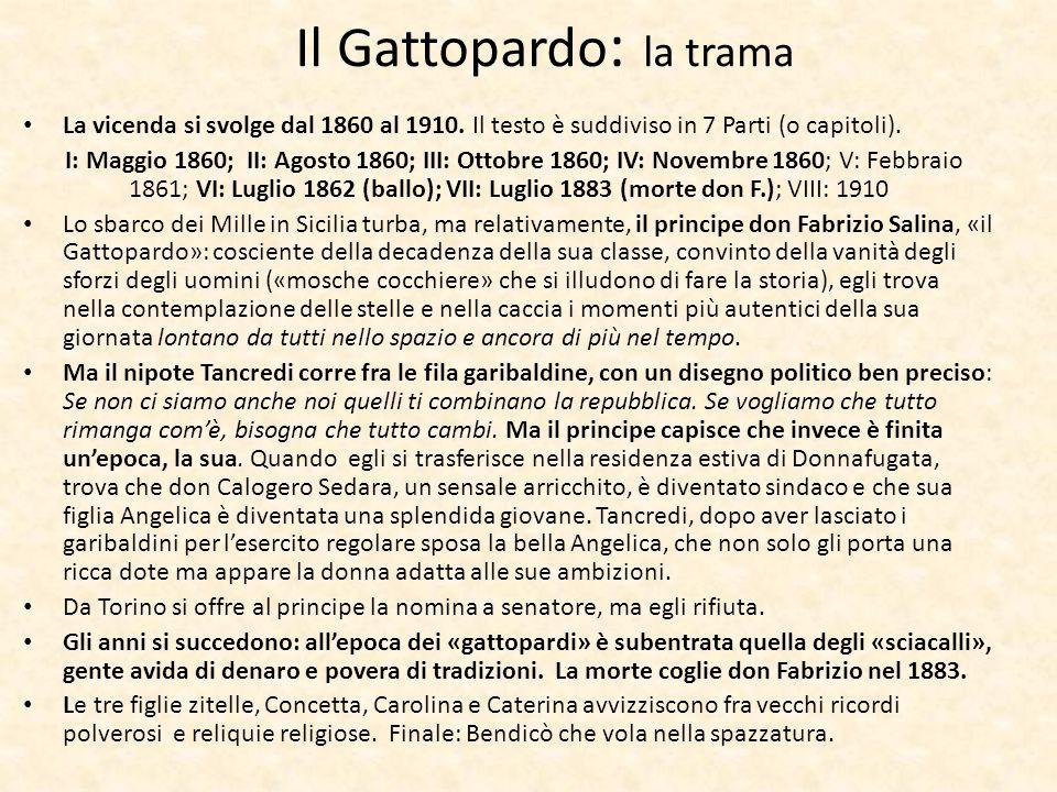 Il Gattopardo: la trama