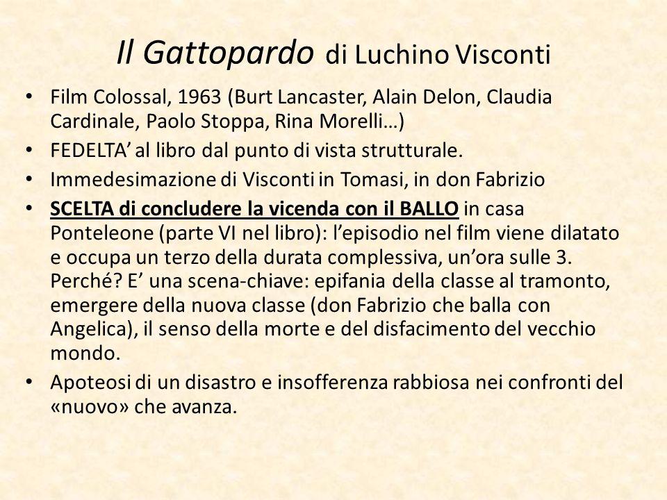 Il Gattopardo di Luchino Visconti