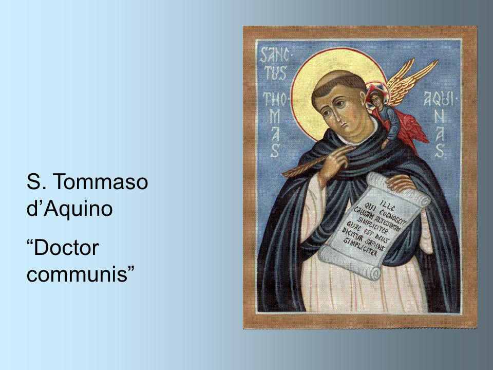 S. Tommaso d'Aquino Doctor communis
