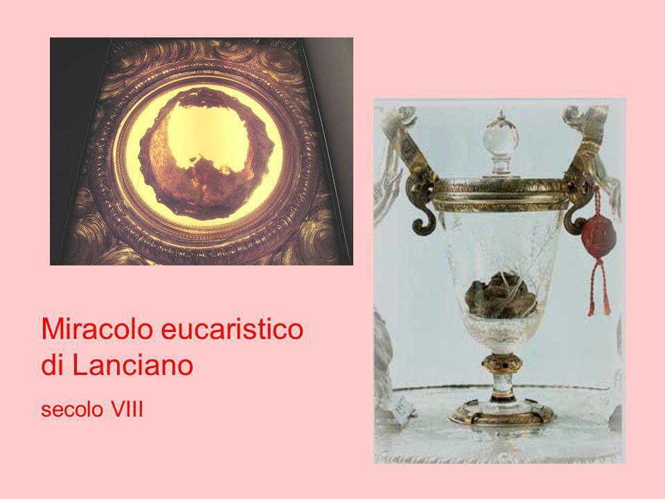 Miracolo eucaristico di Lanciano