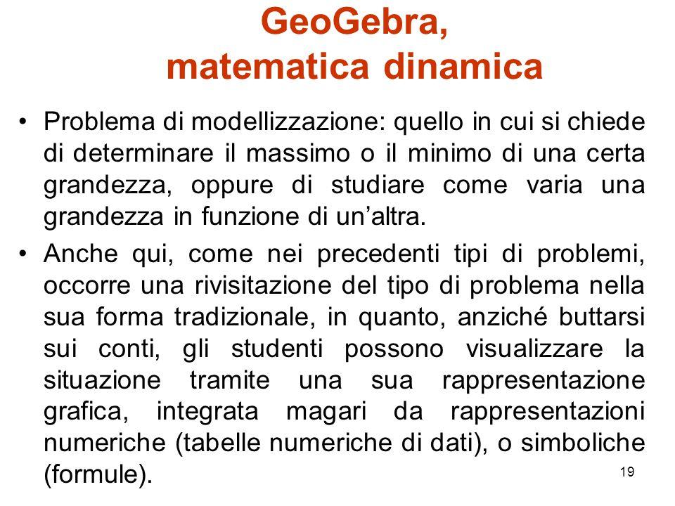 GeoGebra, matematica dinamica
