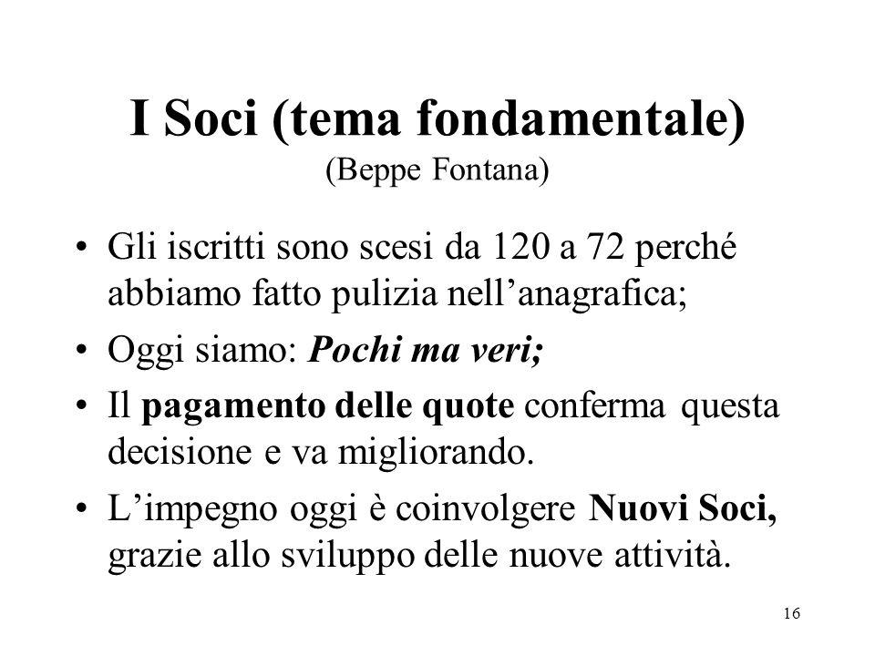 I Soci (tema fondamentale) (Beppe Fontana)