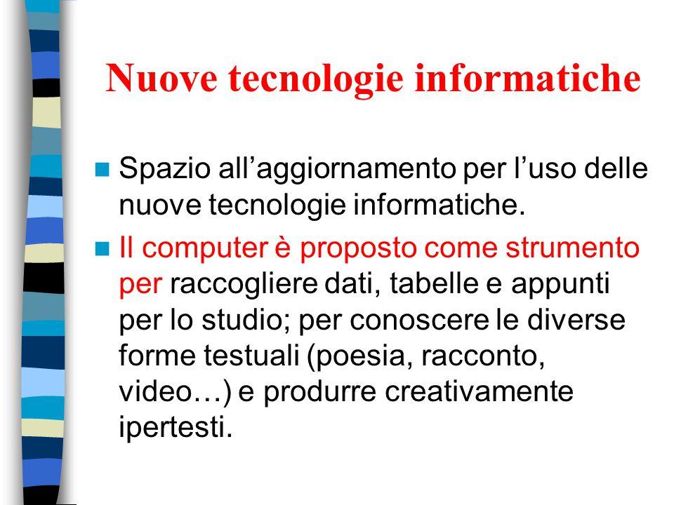 Nuove tecnologie informatiche