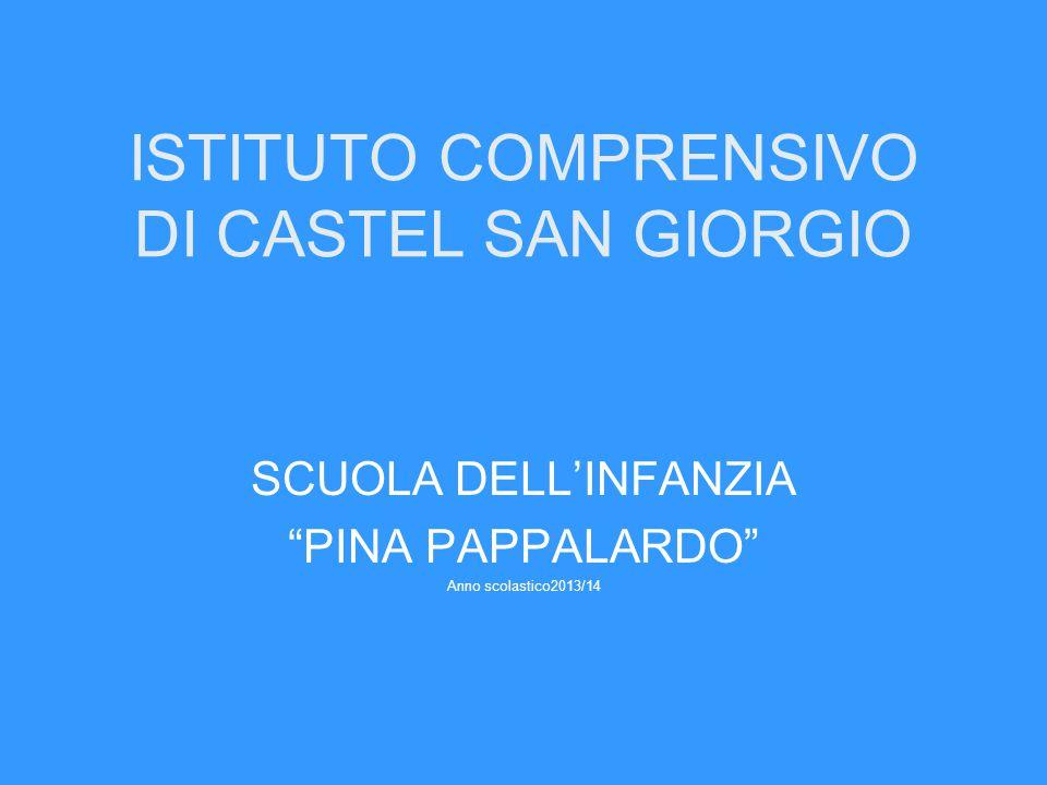 ISTITUTO COMPRENSIVO DI CASTEL SAN GIORGIO