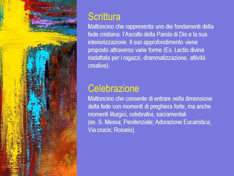 Scrittura Celebrazione