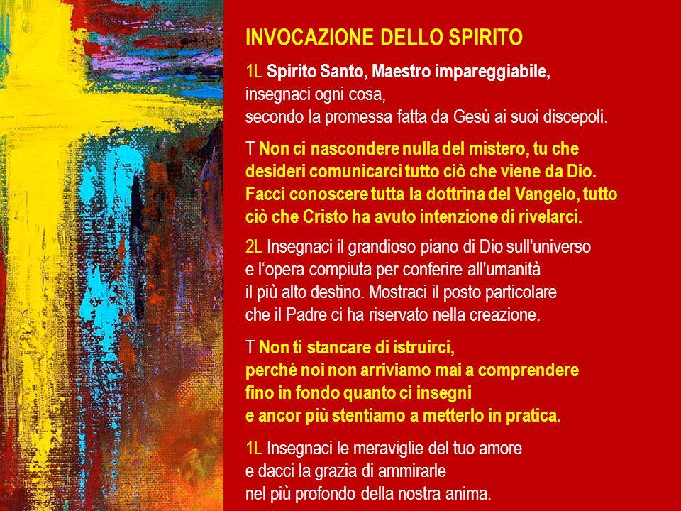 INVOCAZIONE DELLO SPIRITO